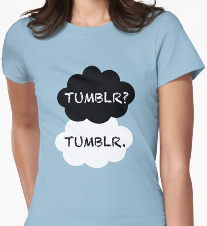 Tumblr/TFIOS Womens Fitted T-Shirt