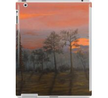 Silent Sentinels in the Sunset. iPad Case/Skin