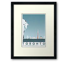 IFSC Bouldering World Cup - Toronto Framed Print