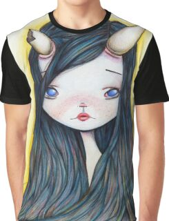 Lonely Girl Graphic T-Shirt