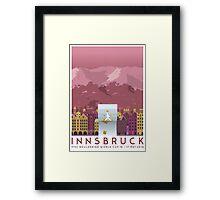 IFSC Bouldering World Cup - Innsbruck Framed Print