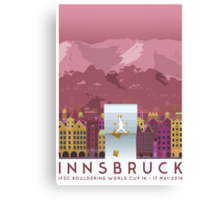 IFSC Bouldering World Cup - Innsbruck Canvas Print