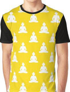 Buddha pattern Graphic T-Shirt