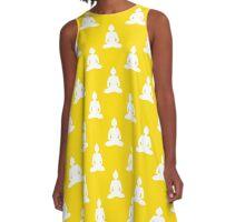 Buddha pattern A-Line Dress