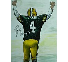 Forever Favre Photographic Print