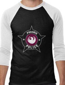 Phoenix again but with  Police T Shirt - Phoneix flag Men's Baseball ¾ T-Shirt