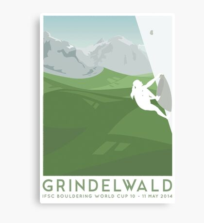 IFSC Bouldering World Cup - Grindelwald Canvas Print