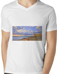 Fortaleza do Guincho Mens V-Neck T-Shirt