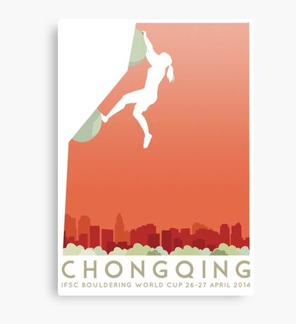 IFSC Bouldering World Cup - Chongqing Canvas Print
