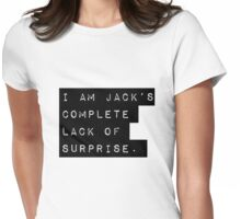 Complete Lack of Surprise  Womens Fitted T-Shirt
