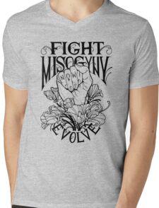 Fight Misogyny Mens V-Neck T-Shirt