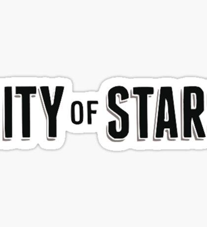 City of Stars Sticker