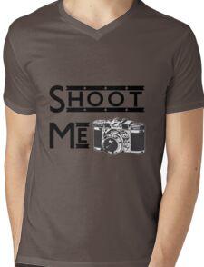 Shoot Me Mens V-Neck T-Shirt