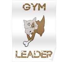 Cubone Gym Leader Poster