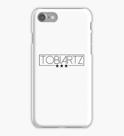 TobiArtz Logo schwarz iPhone Case/Skin