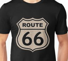 Route 66 sign illustration Unisex T-Shirt