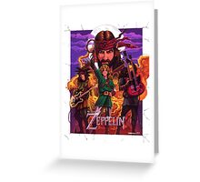 The Legend of Zeppelin Greeting Card