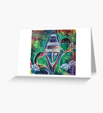 Abide Greeting Card