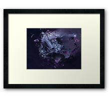 Abstract Mist Framed Print
