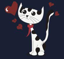 Love Cat One Piece - Short Sleeve