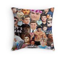 Zac Efron Throw Pillow
