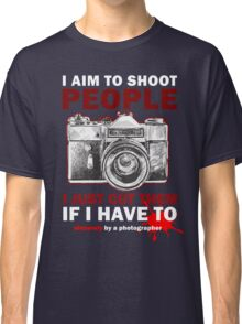 Sincerely, Photographer Classic T-Shirt