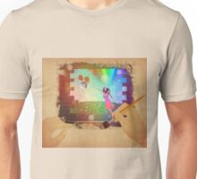 Hands drawing a picture with fairy Unisex T-Shirt