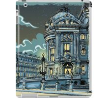 Opéra de Paris at Night iPad Case/Skin
