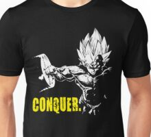 CONQUER - Vegeta Hardcore Squat - Leg Day Unisex T-Shirt