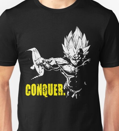 CONQUER - Vegeta Hardcore Squat - Leg Day Unisex T-Shirt
