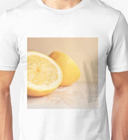 Chopped Lemon Fruit. Unisex T-Shirt