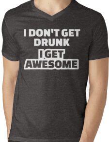 I Clover Shenanigans T-Shirt Funny St Patricks Day Shirt Mens V-Neck T-Shirt