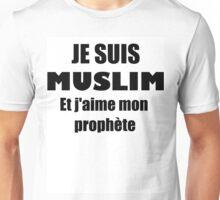 Je suis muslim Unisex T-Shirt