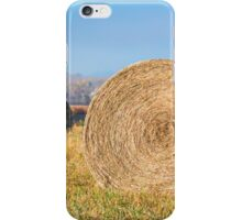 Round Hay Bales iPhone Case/Skin