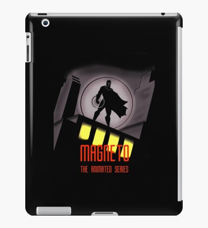 Magneto: The Animated Series iPad Case/Skin