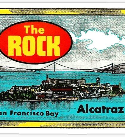 The Rock Alcatraz San Francisco Vintage Travel Decal Sticker