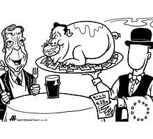 Euro Bill by Alex Hughes