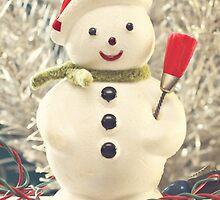Vintage Snowman by Hilary Walker