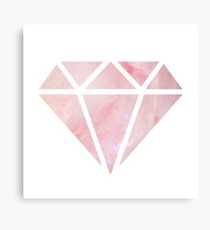 Galaxy Diamond Canvas Print