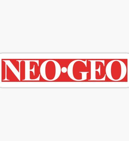 Neo Geo (Logo) Sticker