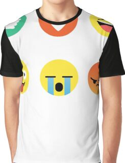 I Love Basketball Emoji Emoticon Graphic Tee Funny Graphic T-Shirt