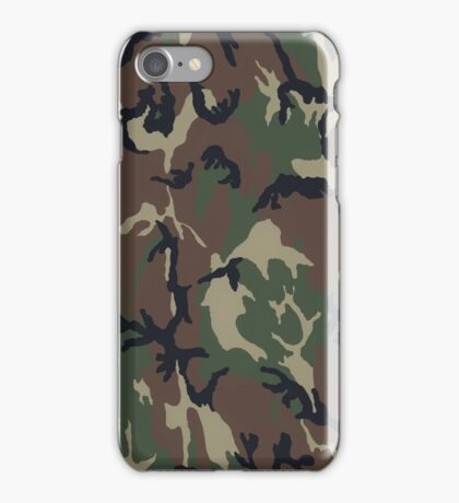 Army Camo (Green) iPhone Case/Skin