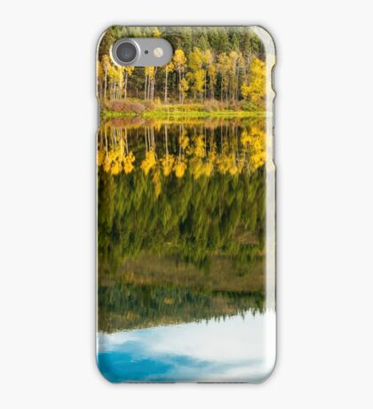 Autumn Reflections in the Pend Oreille River (2)  iPhone Case/Skin