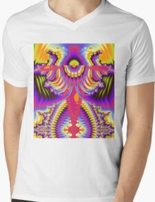The Angelic Abstract Mens V-Neck T-Shirt