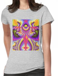 The Angelic Abstract Womens Fitted T-Shirt