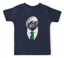 Sloth Like a Boss - Mr. Sloth Kids Tee