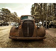 1932 Ford Pickup Rat Rod Photographic Print