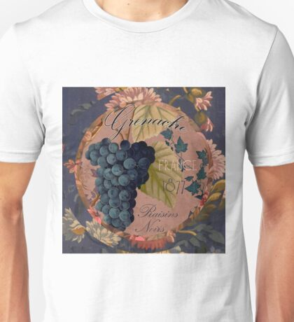 Wines of France Grenache Unisex T-Shirt
