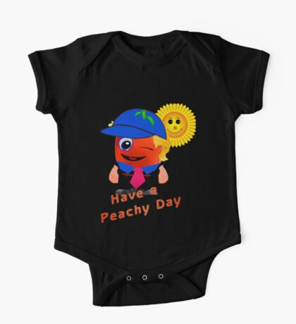 Have a peachy day One Piece - Short Sleeve