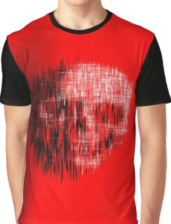 Etched Skull Graphic T-Shirt